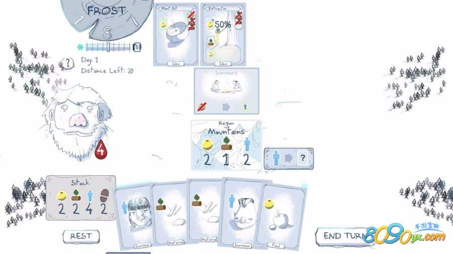 Frost严寒卡牌手游