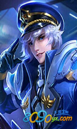 王者荣耀诸葛亮海军少将皮肤外观